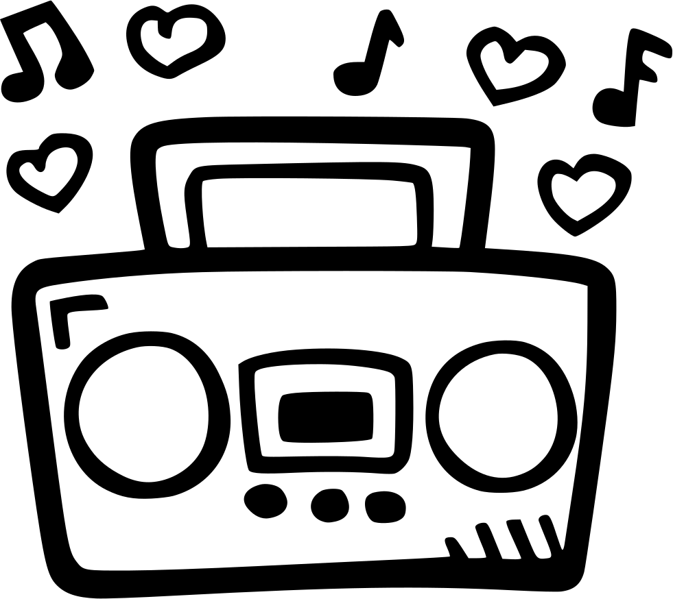 royalty free library Boombox Svg Png Icon Free Download
