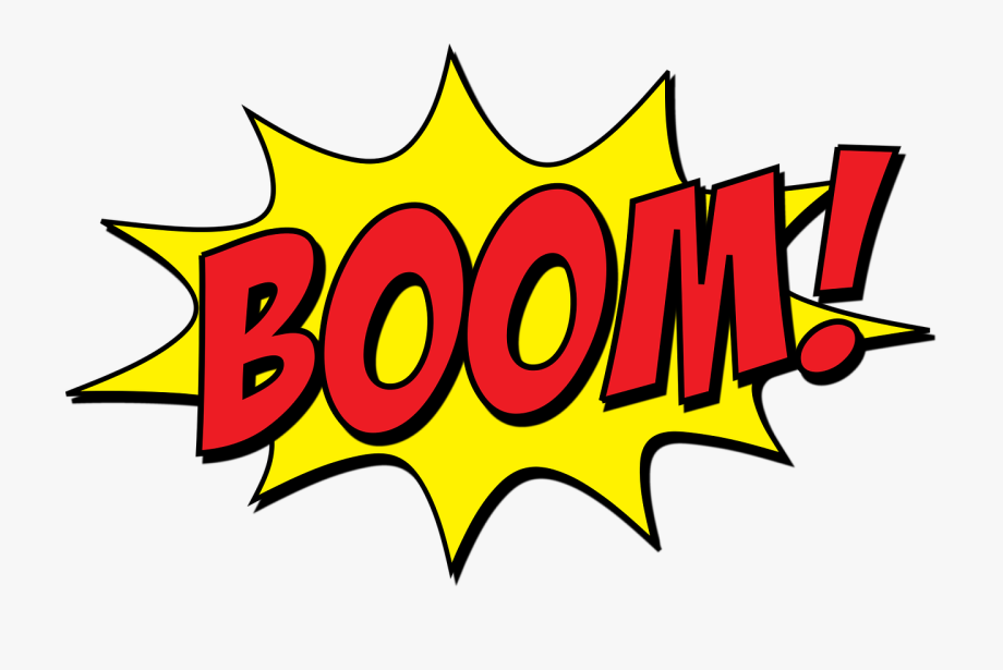 graphic free library Boom clipart. Transparent cartoon explosion .