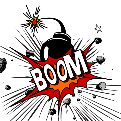 clip art library download Free content clip art. Boom clipart explosive