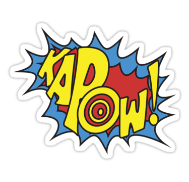 picture free stock Boom clipart kapow. Pop art free on