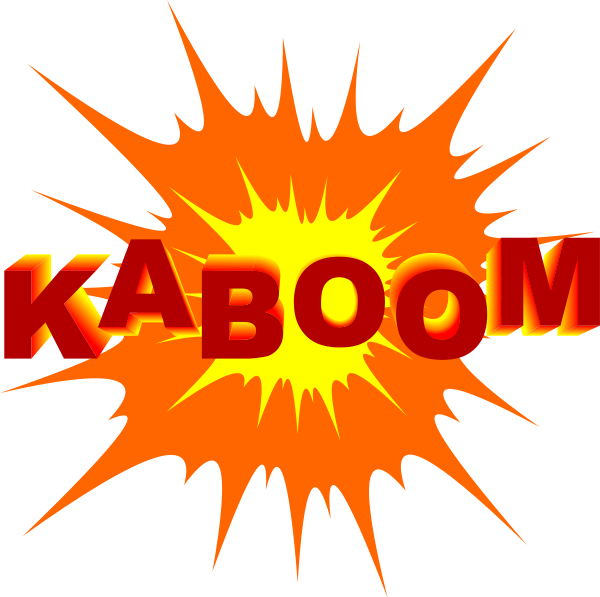 svg transparent library Image of off free. Boom clipart rocket blast.