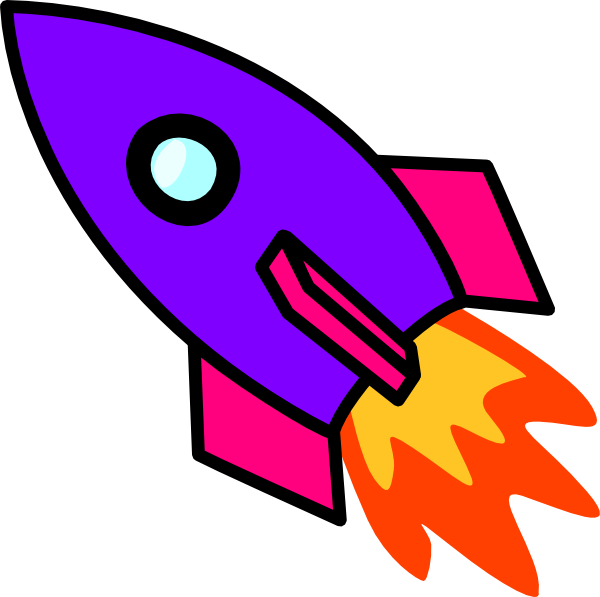 svg library Boom clipart rocket blast. Simple drawing at getdrawings.