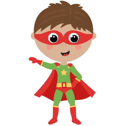 graphic library library Superheroes clipart fight. Boy superhero cute cut