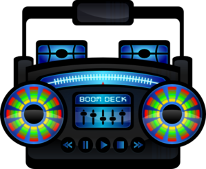 vector freeuse library Mini boom box clip. Boombox clipart