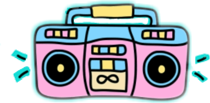 banner royalty free Popular and trending stickers. Boombox clipart