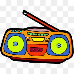 clipart free Boombox clipart cartoon. Radio png vectors psd