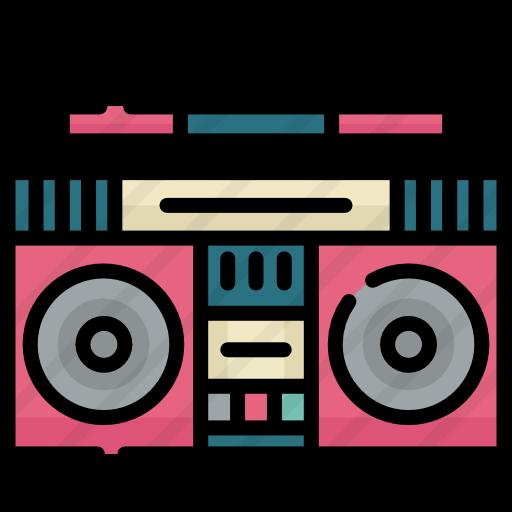 clip art black and white download Radio cassette