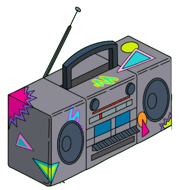 svg freeuse Boombox clipart draw something. My endless summer kool