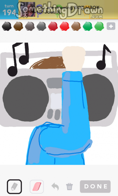 png royalty free Boombox clipart draw something. Somethingdrawn com drawn by