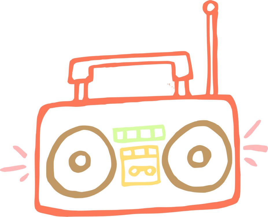 clip art black and white stock Boombox Drawing OpenOffice Draw Download Encapsulated PostScript