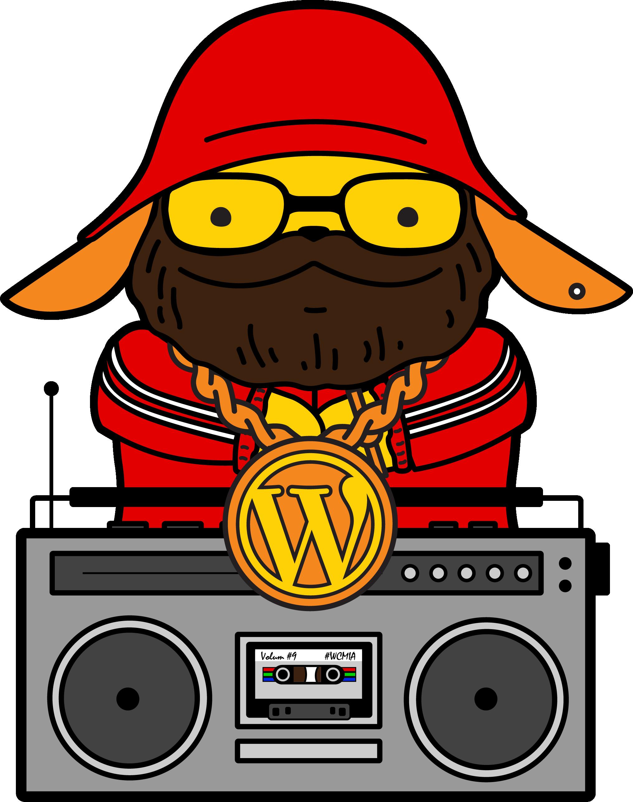 clip art Boombox clipart hip hop. Wapuu wapuus