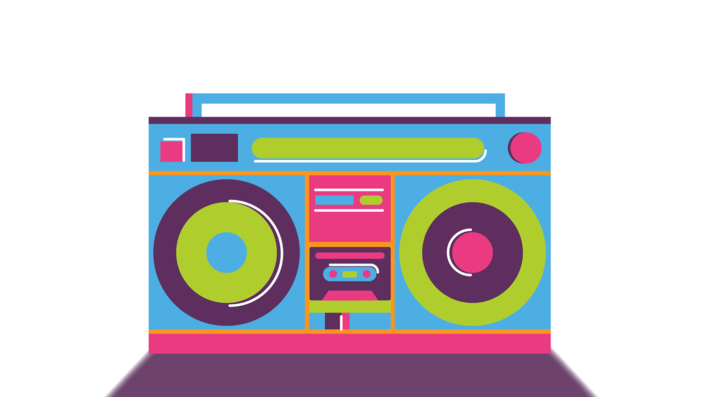 picture stock Don t stop on. Boombox clipart hip hop