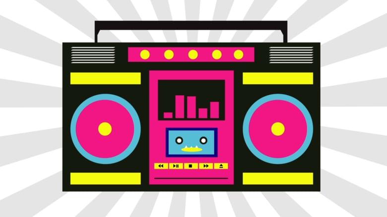 svg free stock Alisha arial on vimeo. Boombox clipart pink