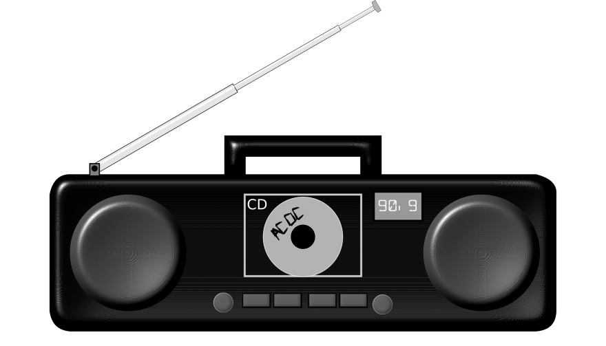 free boombox clipart throwback #76782745