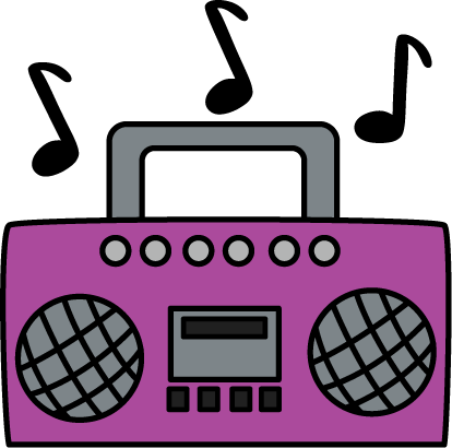 png transparent stock 80's clipart cassette player. Purple boombox clip art
