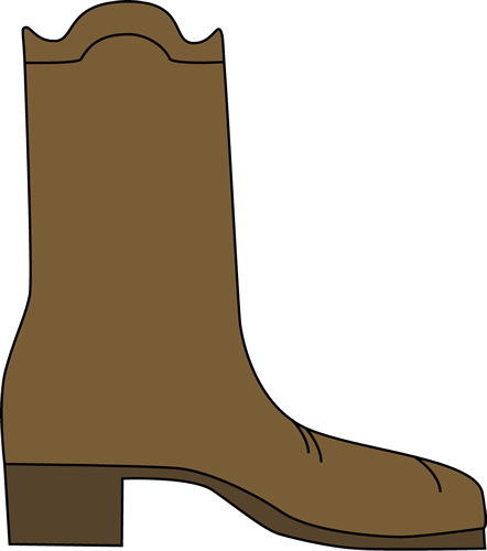 png freeuse stock Boot clipart. Cute western