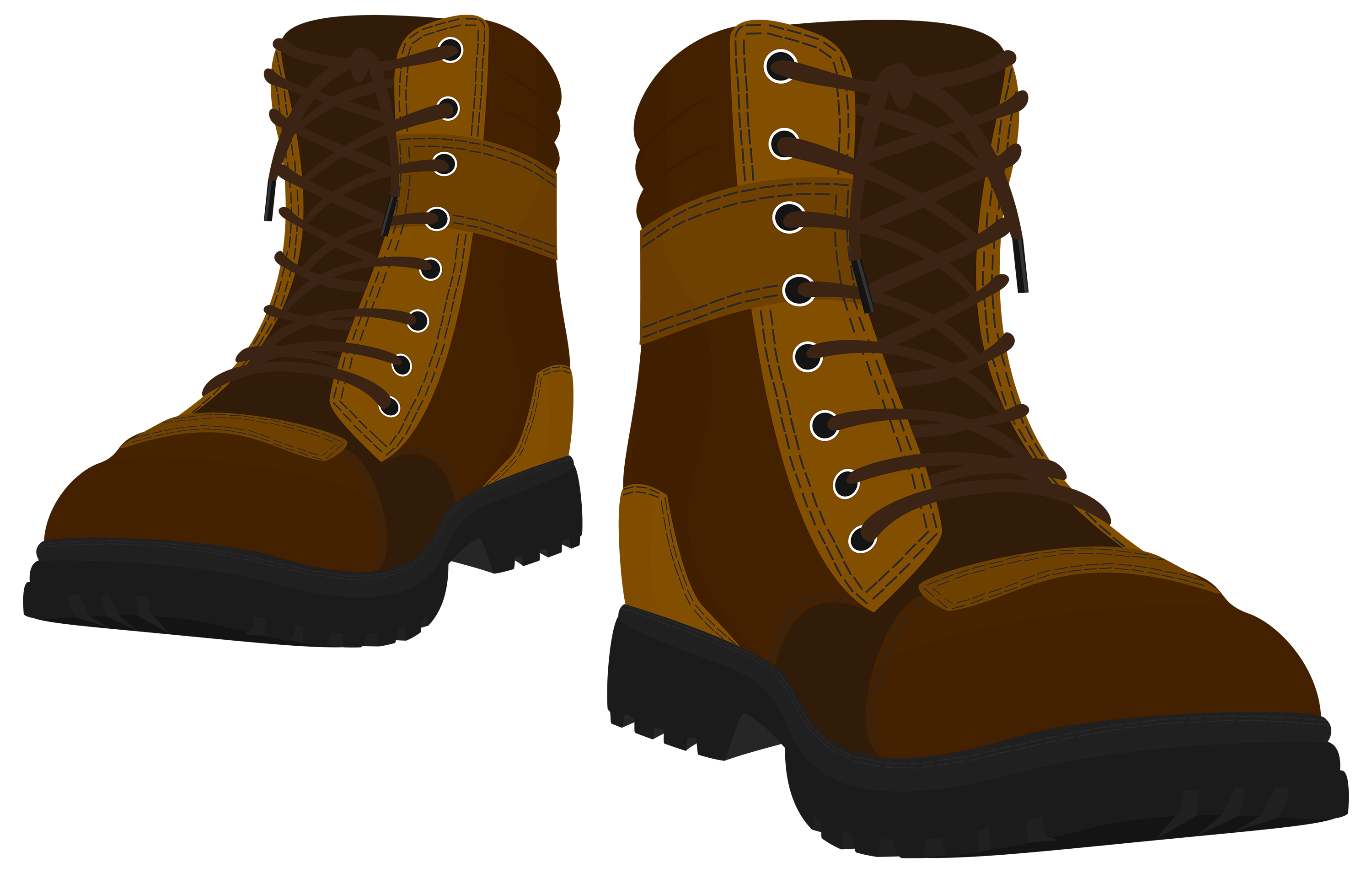 svg library library Brown male png best. Boots clipart.