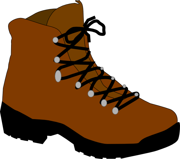 jpg transparent library Hiking drawing at getdrawings. Boot clipart boot timberland