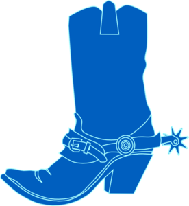 vector royalty free Boots clipart safari. Blue