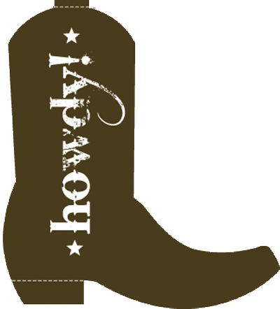 transparent library Western boots clipart. Cowboy boot patterns clipartix