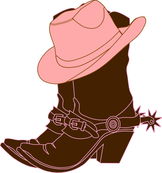 clip transparent download Cow girl cowgirl boots. Boot clipart drawing