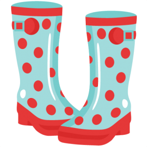 svg download Rainboots svg cutting file. Boot clipart gardening boot