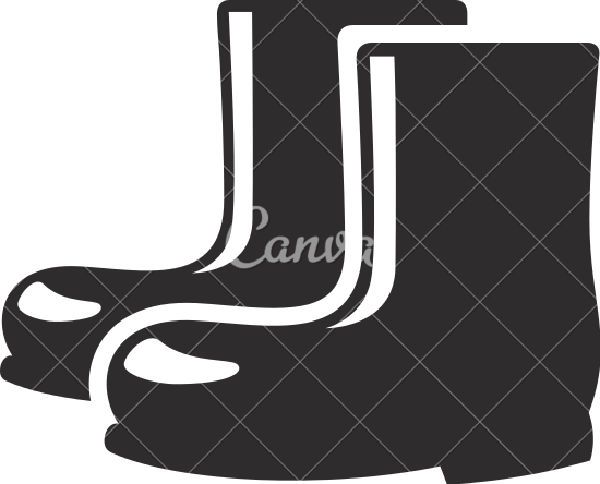 image black and white Boots pencil and in. Boot clipart wet shoe.