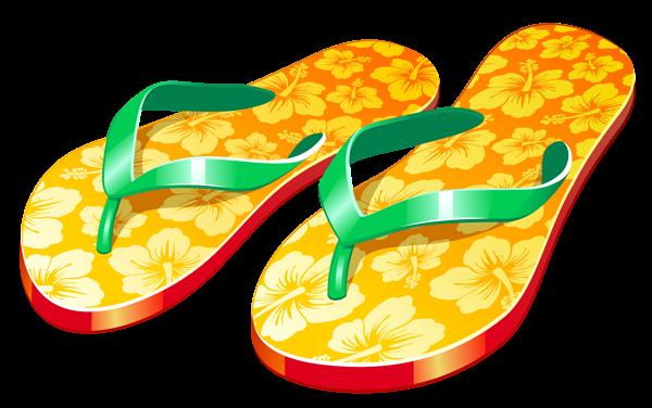 svg transparent stock Boot clipart yellow slipper. Transparent beach flip flops