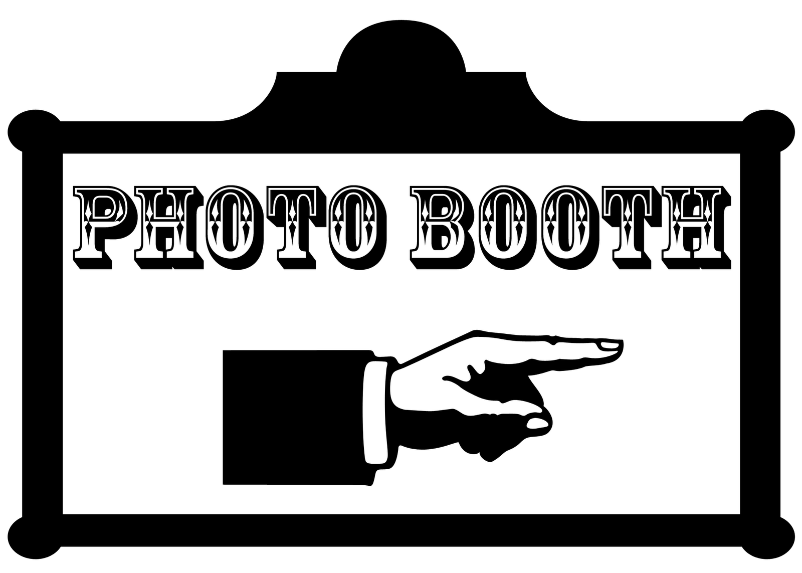 picture library Photo Booth Clipart