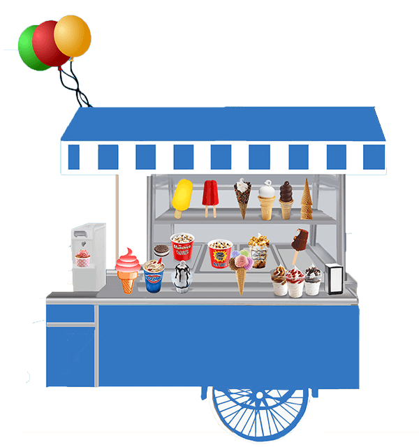 banner black and white Booth clipart. Ice cream free on.