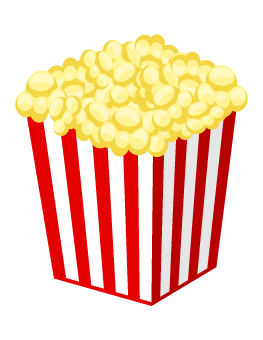 black and white download Popcorn photo prop props. Booth clipart corel draw.