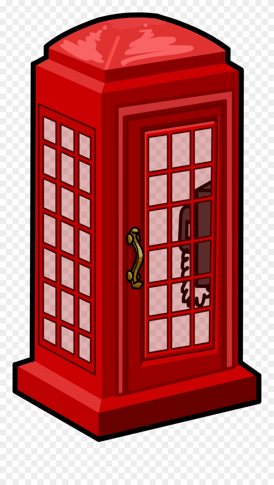 png royalty free library Booth clipart icon british. Phone clip art telephone.