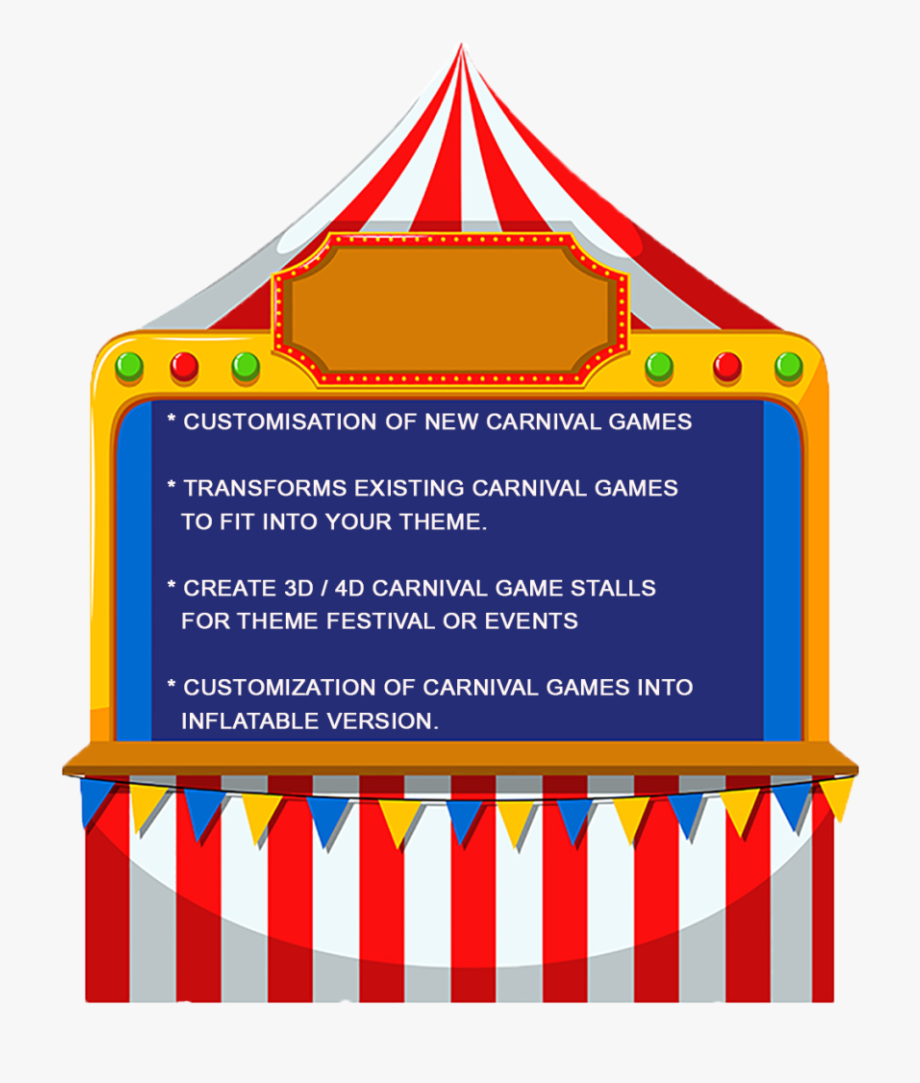png royalty free stock Booth clipart kids carnival games. Game clip art