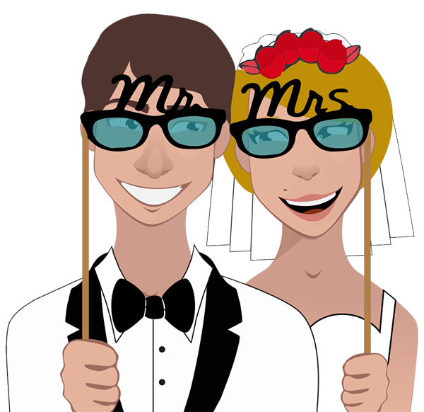 graphic freeuse library Booth clipart marriage. Photo hire birmingham simply