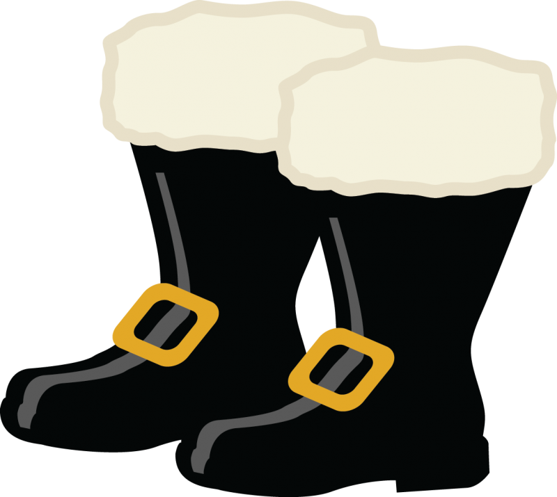 image download Santa s santas . Boots clipart