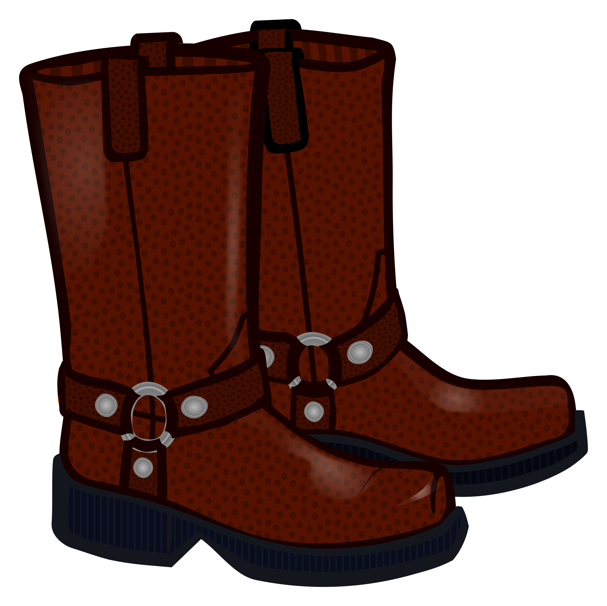 graphic royalty free download Coloured big image png. Boots clipart.