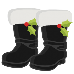 graphic Boots clipart christmas. Santa s svg cutting