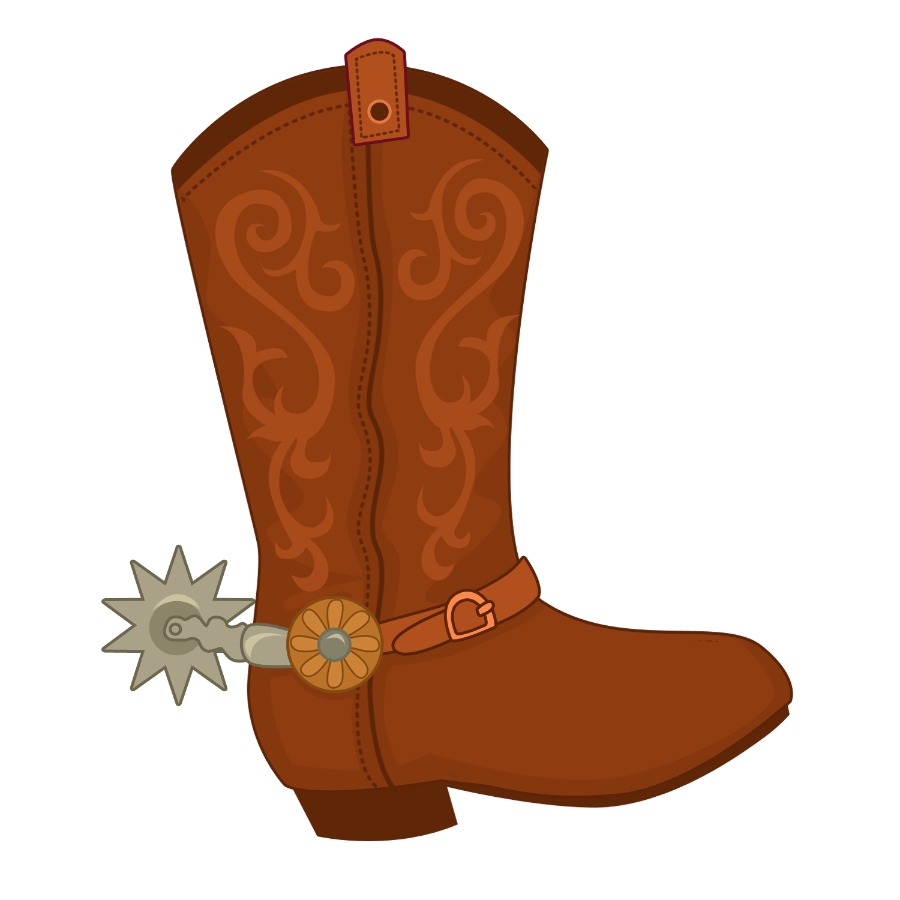 jpg royalty free Minus say hello clip. Western themed clipart