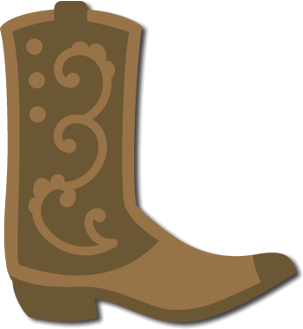 clip library library Cowboy svg file cricut. Boots clipart country boot