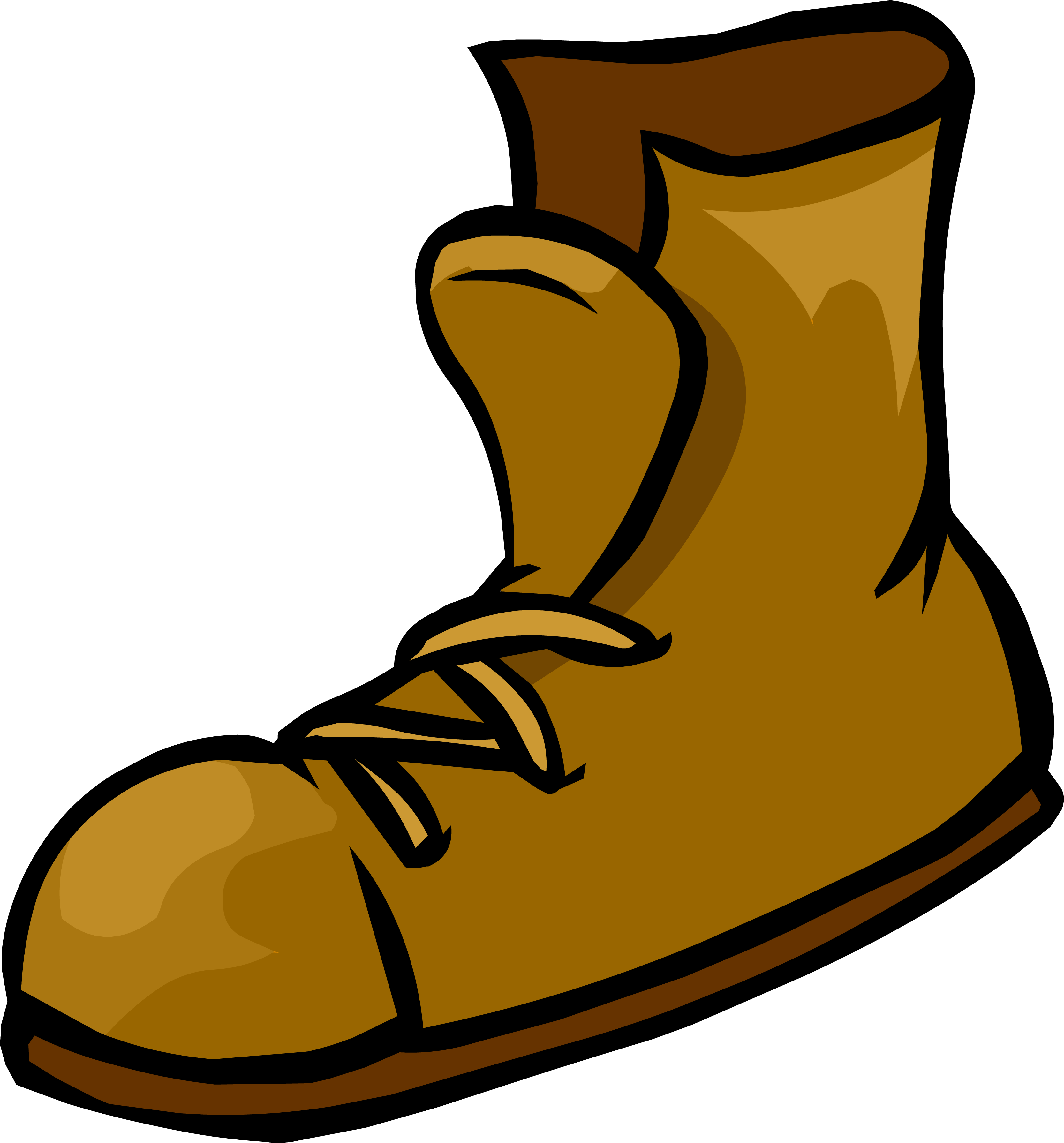 graphic transparent library Image png club penguin. Boots clipart fishing boot