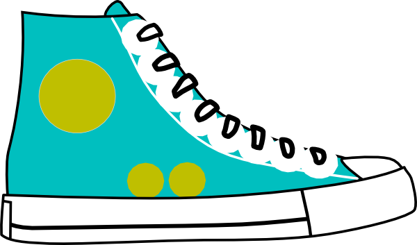 clip black and white library Tennis court clipart. Teal boot .