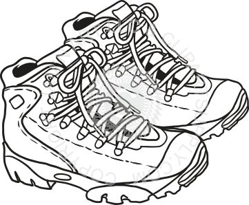clip art black and white library Collection of free Boots clipart sketch