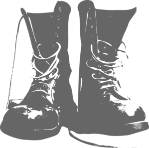 clipart transparent download Army Boots Clip Art at Clker