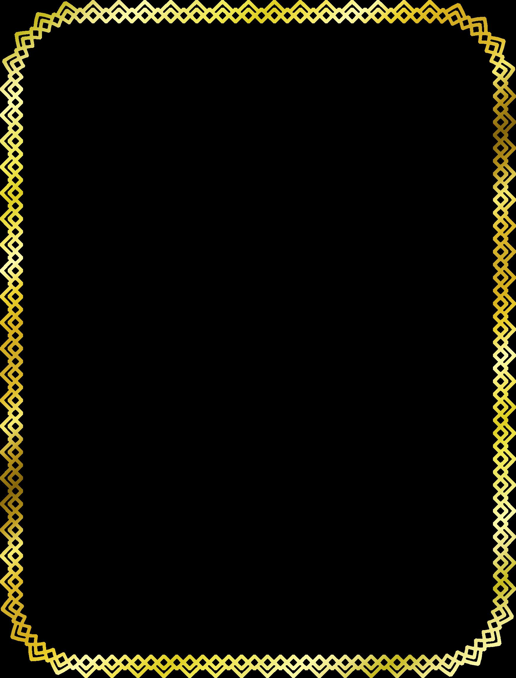 clip art Quadrilateral border big image. Borders clipart diamond