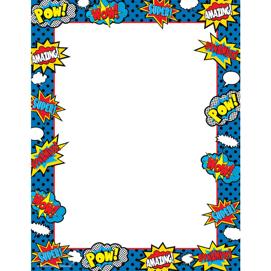 clip art transparent download  collection of high. Border clipart superhero.