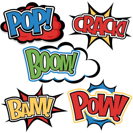 free download Border clipart superhero. Words svg cutting files.