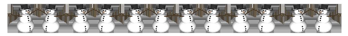svg download Border clipart winter. Snowman.