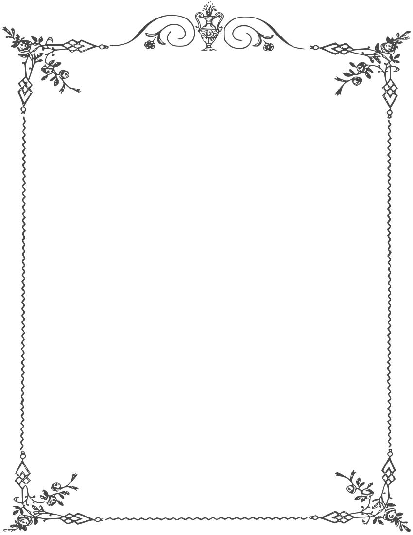banner stock White Border Frame PNG Clipart