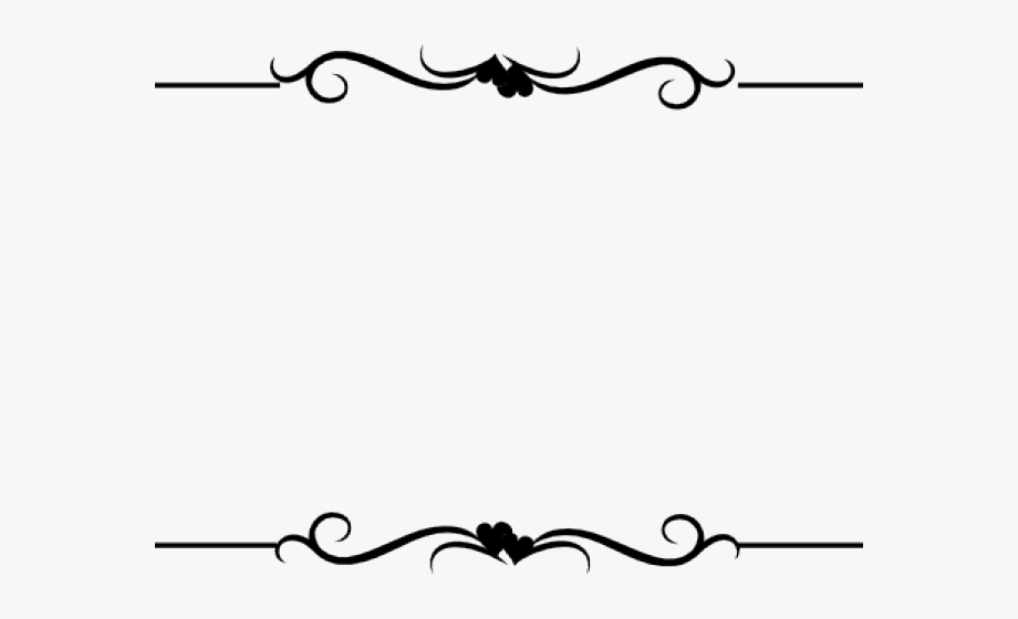clip freeuse download Boarder border line design. Wedding clipart borders