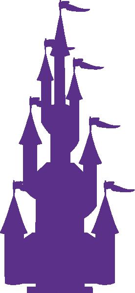 image black and white download Cinderella Castle Silhouette